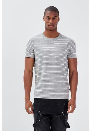 T-shirt con stampa - gris foncé