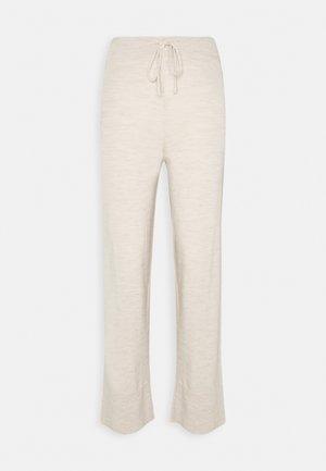 PETRA - Trousers - nougat melange