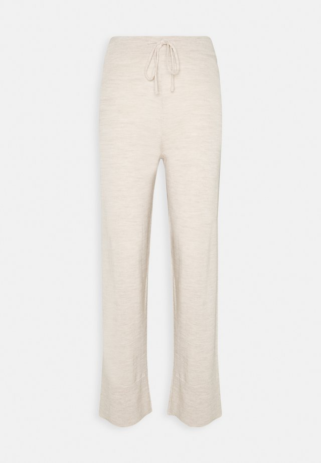PETRA - Pantaloni - nougat melange