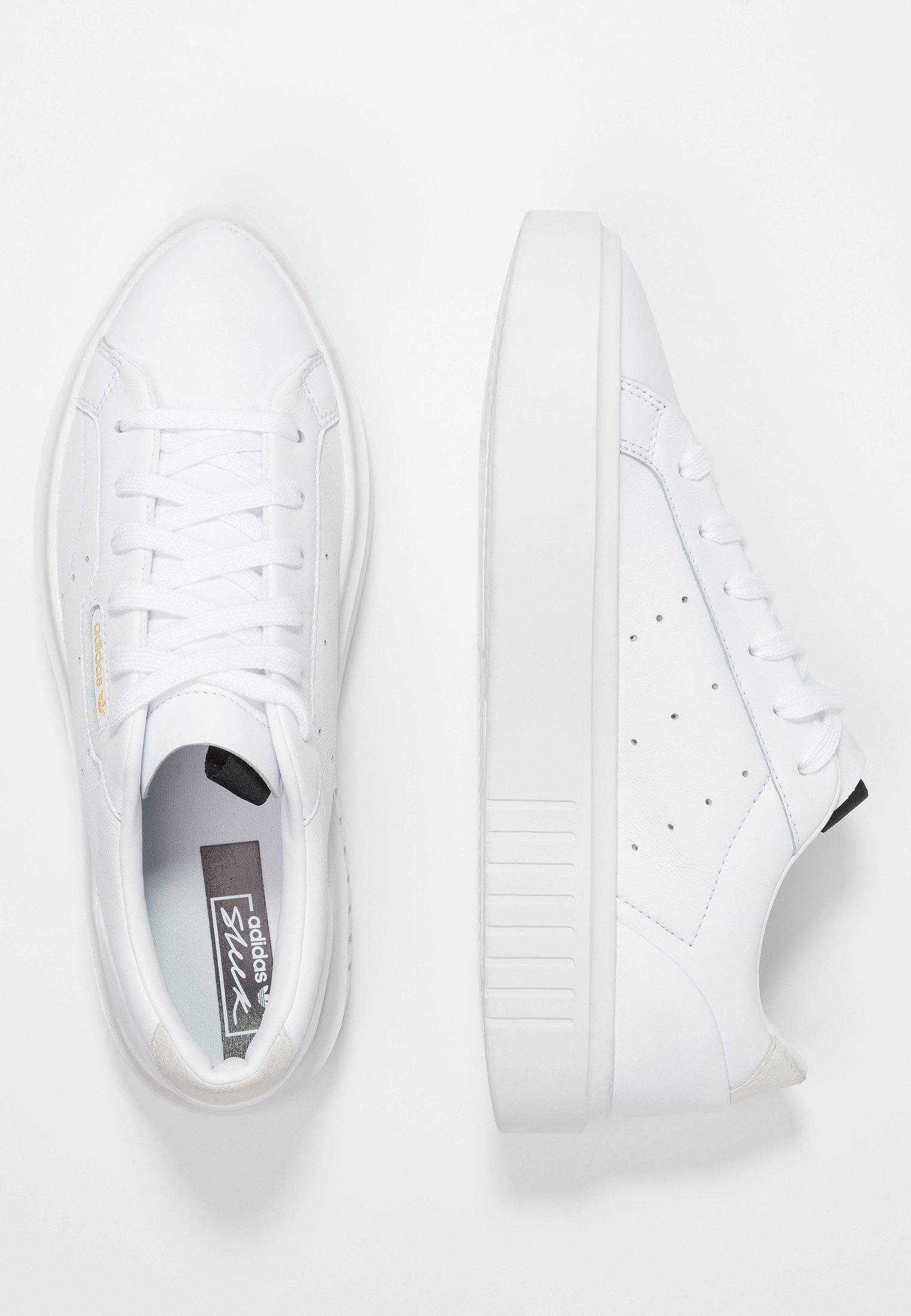 SLEEK SUPER Sneakers footwear whitecrystal whitecore black