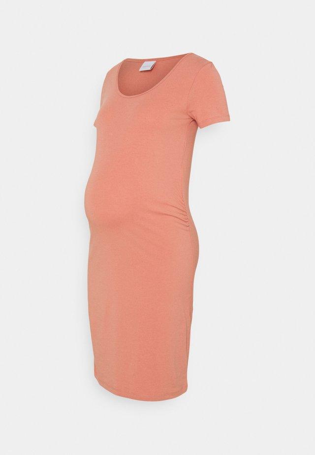 MLLEA DRESS - Žerzejové šaty - desert sand