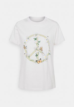 CLASSIC ARTS TEE - T-shirts med print - white sand