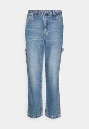 CARPENTER - Cargo trousers - med indigo