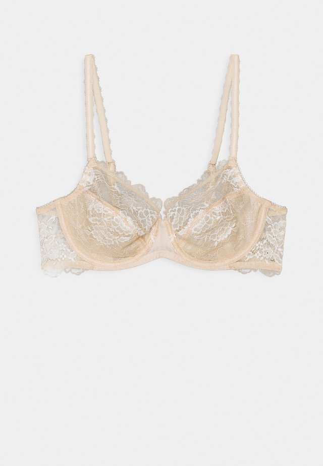 PERFECTION AVERAGE WIRE BRA - Underwired bra - cafe creme