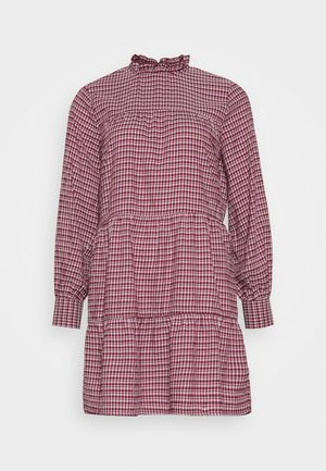 ONLCAROLE LIFE DRESS - Vapaa-ajan mekko - pomegranate