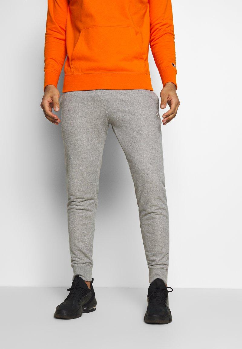 Champion - CUFF PANTS - Tracksuit bottoms - grey melange