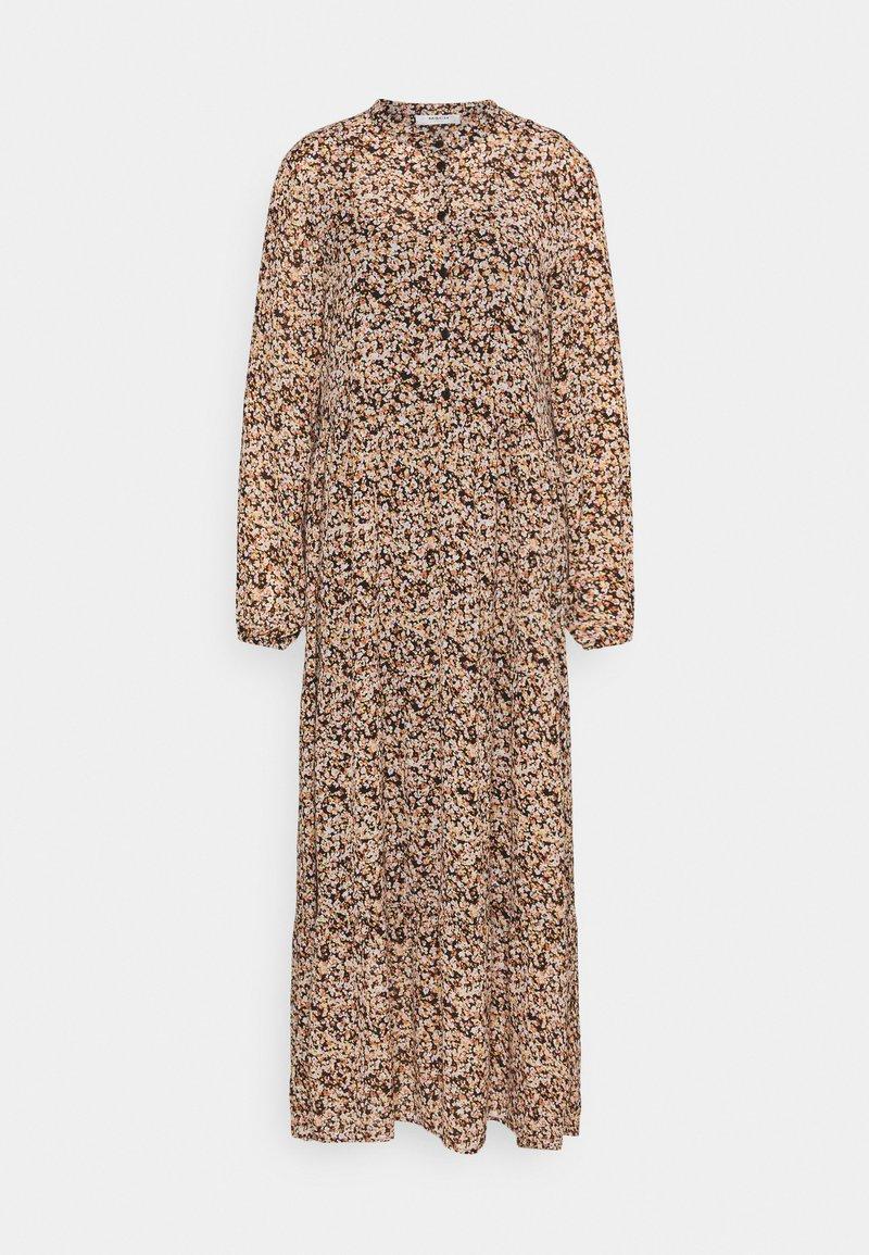 Moss Copenhagen - MERILA RIKKELIE DRESS  - Maxi dress - black