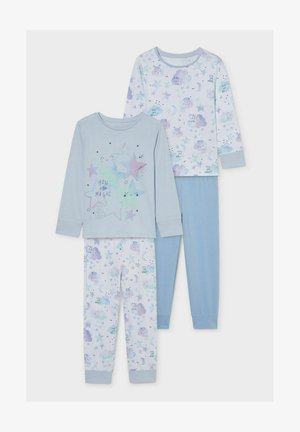 2 PACK - Pyjama set - light blue