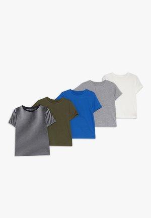 5 PACK - T-shirt print - bunt