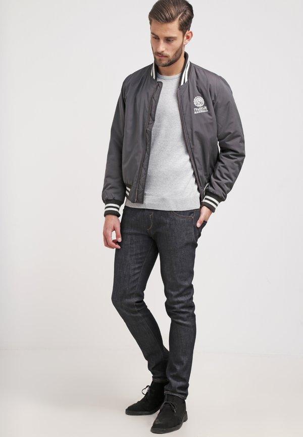 Pier One Sweter - light grey/jasnoszary melanż Odzież Męska HEXJ