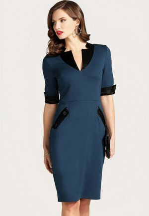 Robe fourreau - blue