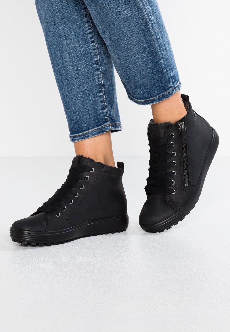 ECCO - SOFT 7 TRED - Sneakers alte - black