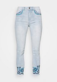 Desigual - DENIM_ANKLE PAISL - Jeans Skinny Fit - blue - 4