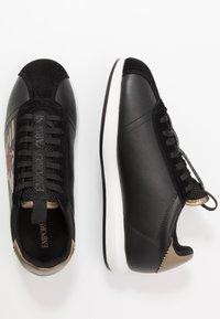 Emporio Armani - Sneakers - black/gold - 1
