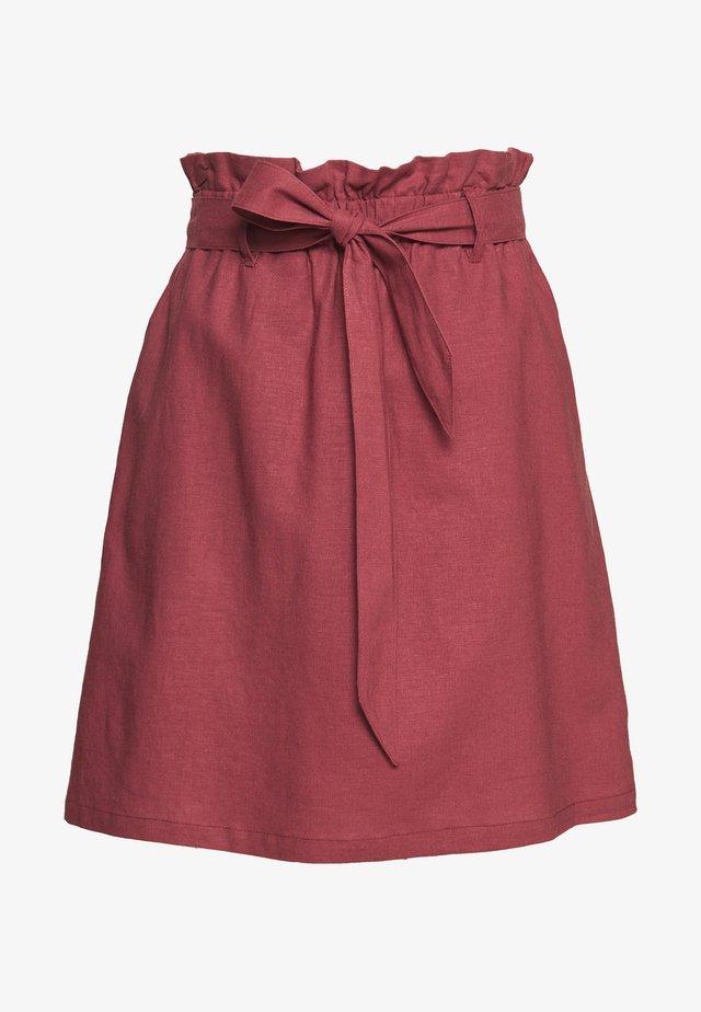 SKIRT - A-line skirt - peonies