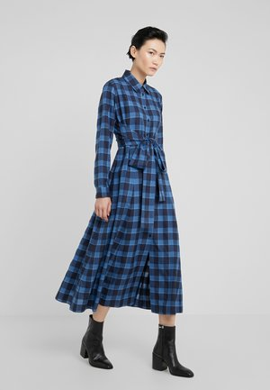 KOLEMA - Shirt dress - open blue