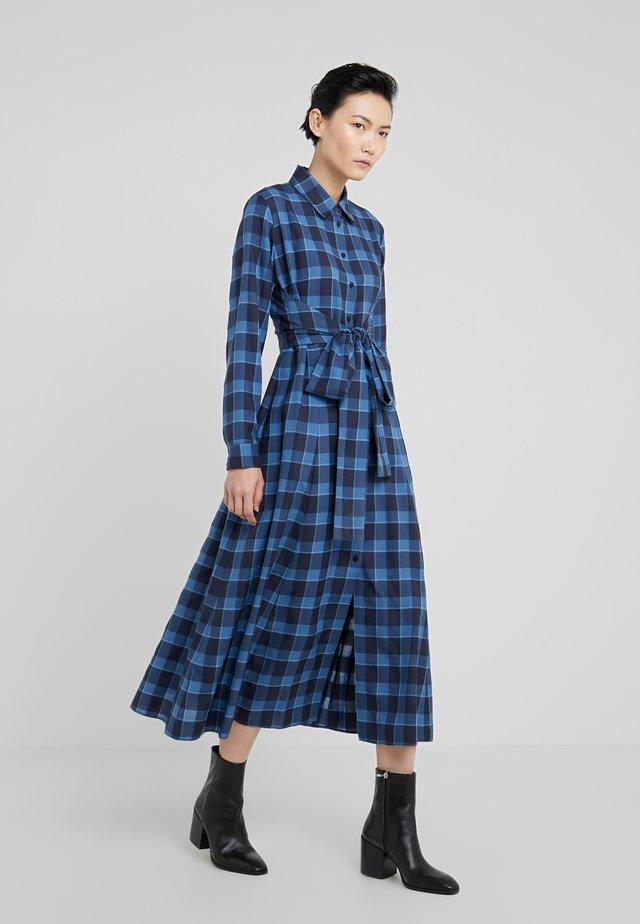 KOLEMA - Shirt dress - open blue