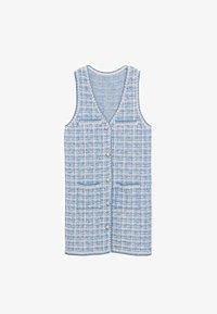 Mango - Jumper dress - bleu - 5