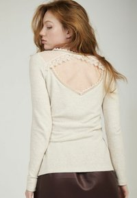 NAF NAF - Long sleeved top - beige - 2