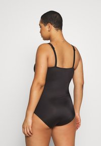 DORINA CURVES - TANZANIASWIMSUIT - Swimsuit - black
