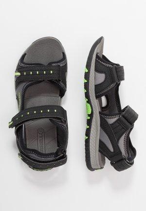 PANTHER SANDAL 2.0 - Chodecké sandály - black