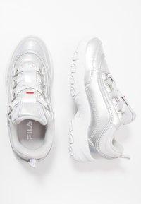 Fila - STRADA - Matalavartiset tennarit - silver/white - 0