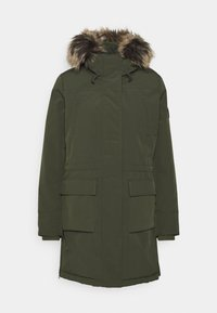 ONLY - ONLNEWSALLY LONG COAT - Winter coat - forest night - 4