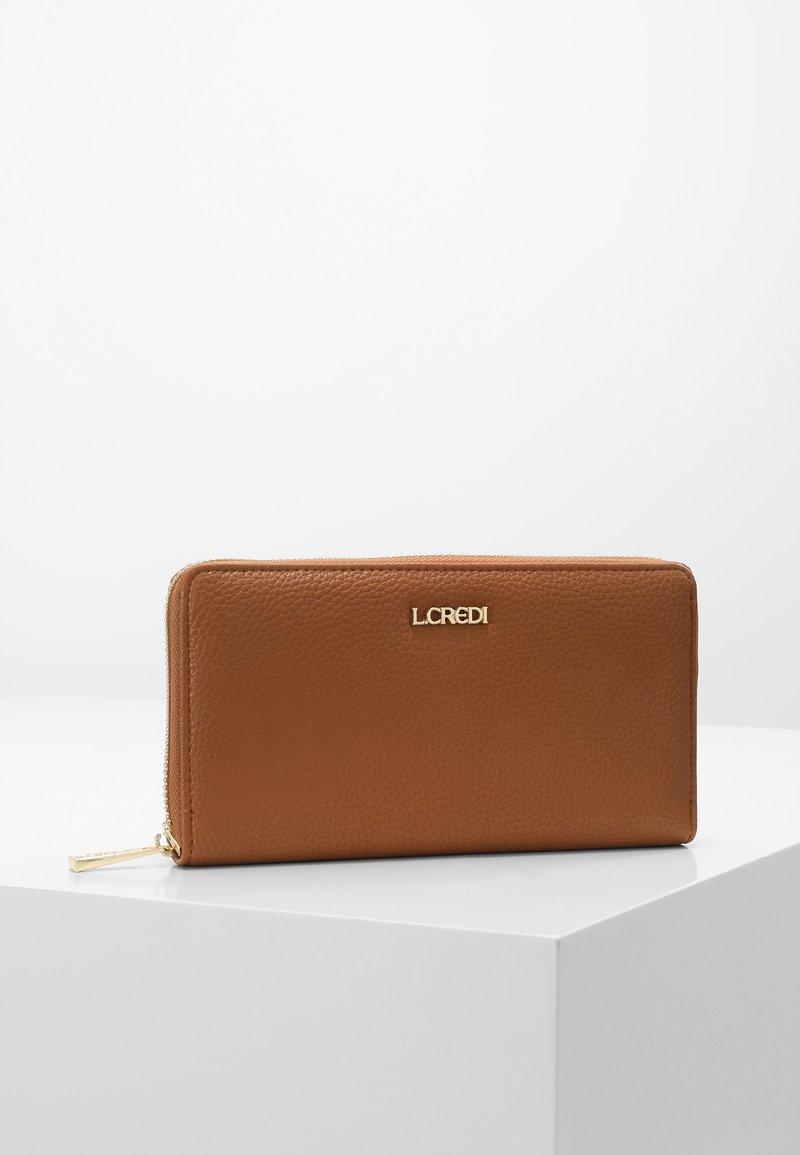 L. CREDI - ELLA  - Wallet - cognac