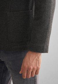 Falconeri - BLAZER AUS KASCHMIRJERSEY - Blazer jacket - grey - 4