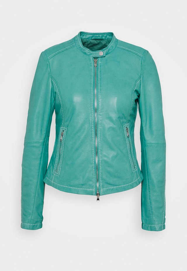 EMELLIE - Leather jacket - opal