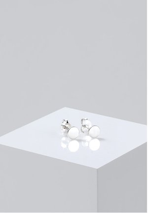 PLÄTTCHEN - Earrings - silver-coloured