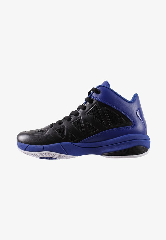 Basketball shoes - black/blue