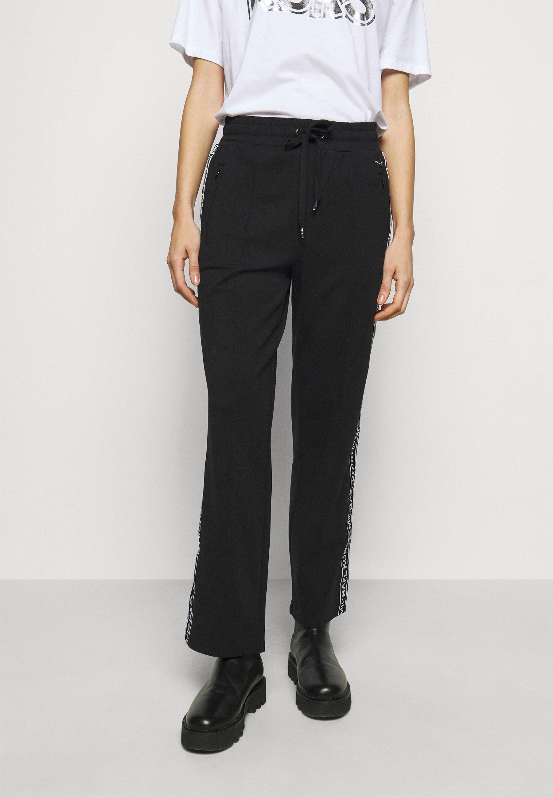 Femme LOGO TAPE TRACK  - Pantalon de survêtement