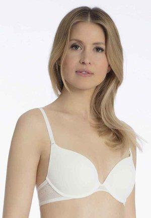 Push-up bra - silk white