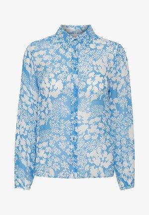 FLORIZZAIW  - Button-down blouse - light blue poetic flower
