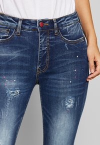 Desigual - RAINBOW - Slim fit jeans - denim dark blue - 3