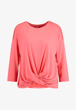 Bluzka z długim rękawem - rouge red