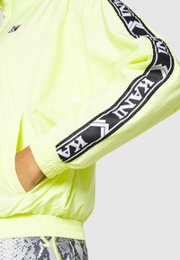Karl Kani - OG TAPE TRACK JACKET - Training jacket - yellow - 4