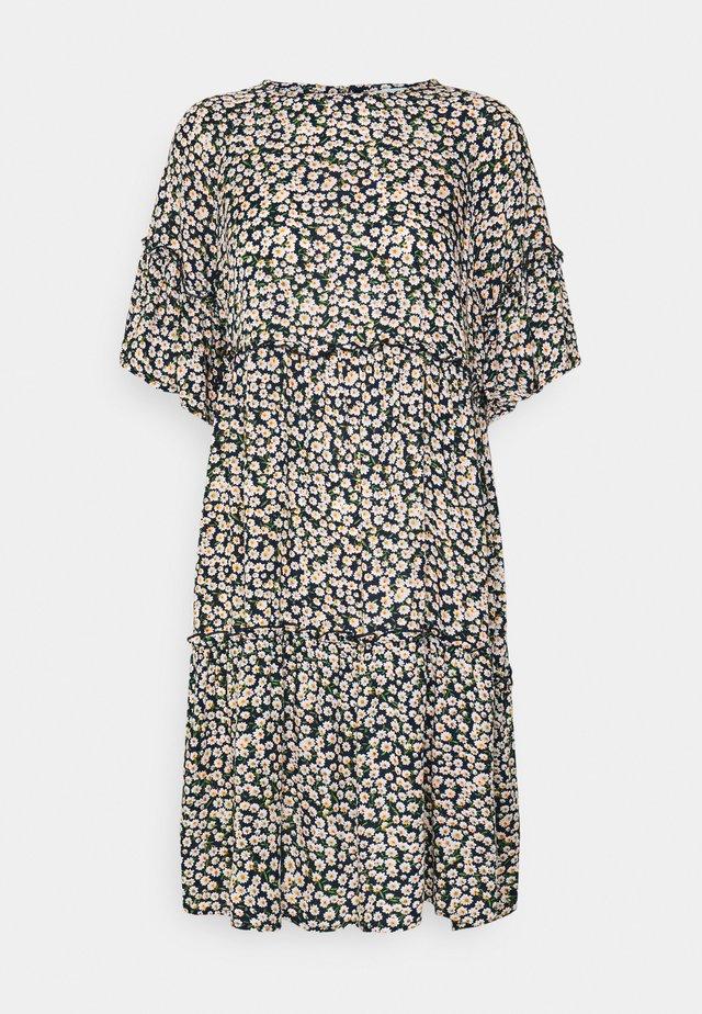 GIRAL SHORT DRESS  - Denní šaty - navy