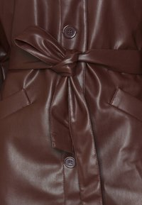 Monki - RORI JACKET - Faux leather jacket - brown - 2