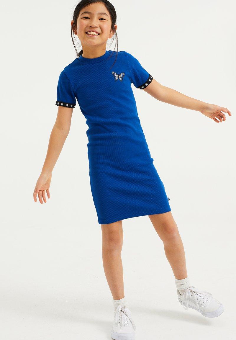 WE Fashion - Gebreide jurk - cobalt blue
