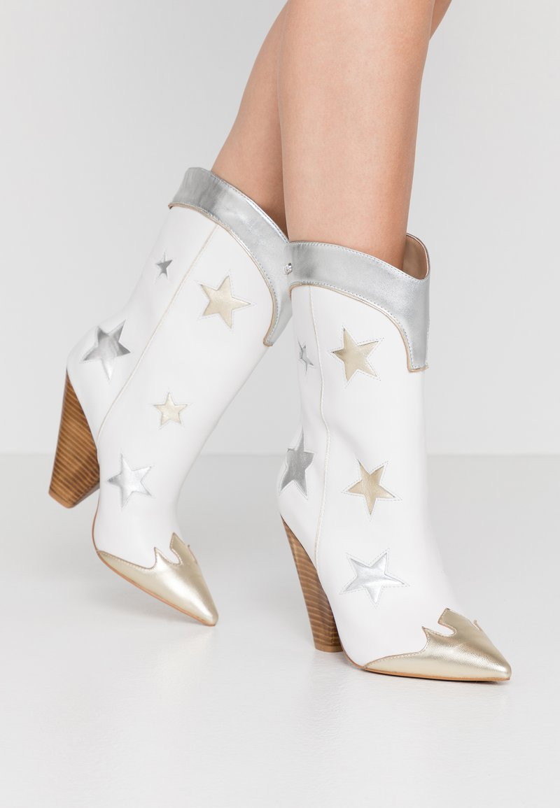 Liu Jo Jeans - GUENDA  - High heeled boots - white
