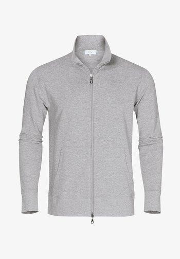 MIT REISSVERSCHLUSS - Sweater met rits - grey