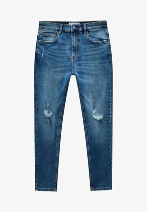 Jeansy Slim Fit - light blue