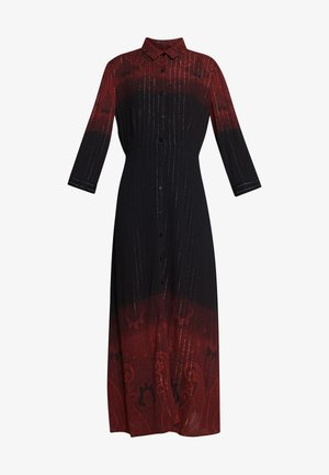 VEST LIONEL - Długa sukienka - marron tierra