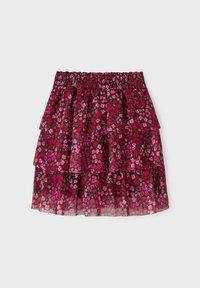 Name it - Pleated skirt - fuchsia purple - 1