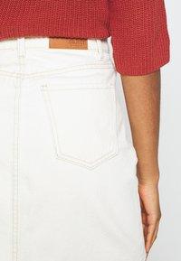 Object - GLORIA TWILL - Mini skirt - sandshell - 5