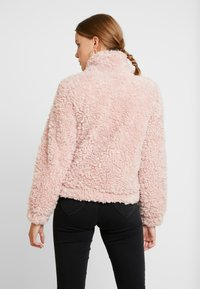 Dorothy Perkins - SHORT TEDDY COAT - Winter jacket - blush - 2