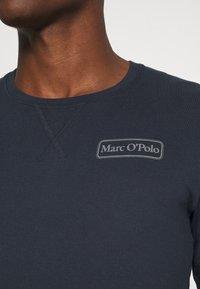 Marc O'Polo - LOUNGESET CREW NECK - Pyjamas - blue - 3