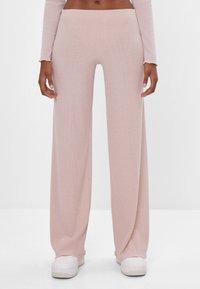 Bershka - Kalhoty - pink - 0